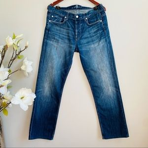 7 for all Mankind Straight leg slouchy jeans